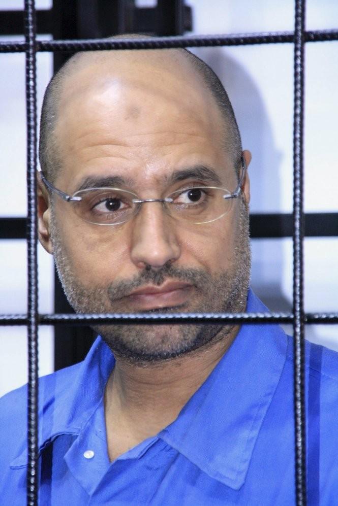 Tuyen an tu hinh con trai ong Gaddafi