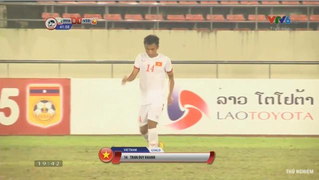 U19 Viet Nam 2-0 U19 Myanmar: Hien ngang vao ban ket-Hinh-2