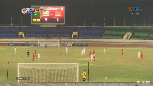 U19 Viet Nam 2-0 U19 Myanmar: Hien ngang vao ban ket