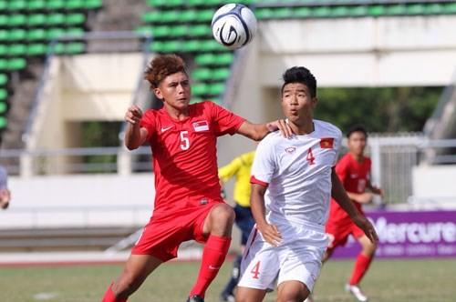 U19 Viet Nam - U19 Brunei: Phai thang de gianh lai ngoi dau