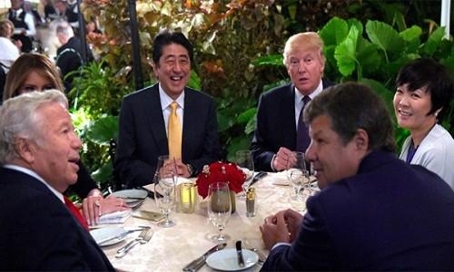 Bao ve gia dinh Tong thong Donald Trump vo cung ton kem