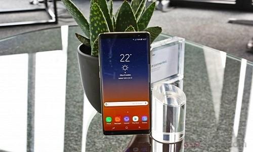 Samsung Galaxy Note 8 pha vo ky luc ve do sang cua Galaxy S8