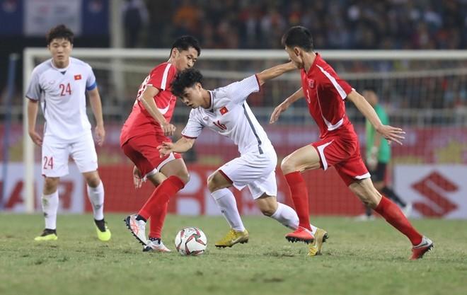 Viet Nam 1-1 Trieu Tien: Cuoc thu nghiem thanh cong truoc them Asian Cup 2019