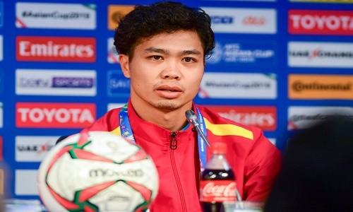 """Cong Phuong: """"Viet Nam san sang danh bai Nhat o tu ket Asian Cup 2019"""""""
