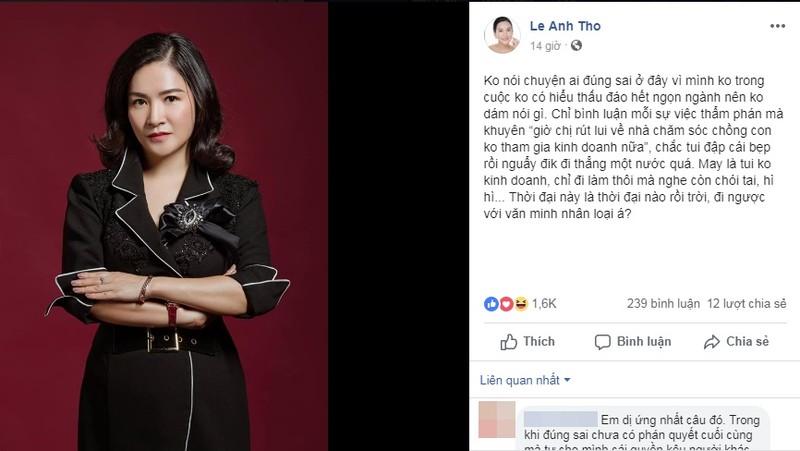 Ba xa Binh Minh buc xuc khi ba Thao duoc khuyen nen lui ve nha nuoi con
