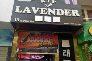 Karaoke Lavender 19 Vu Pham Ham Ha Noi: Tai dien vi pham