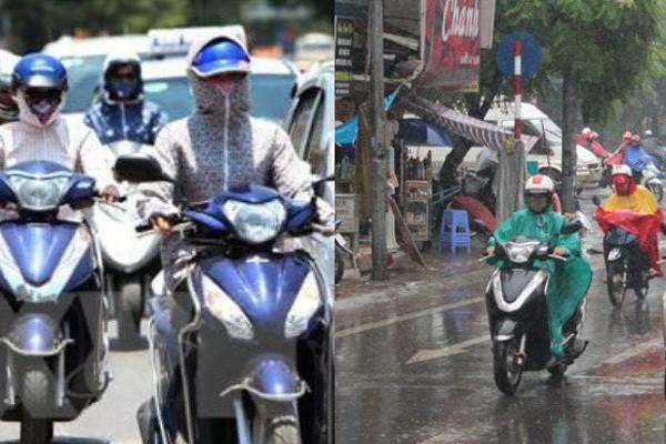 Du bao thoi tiet 16/4: Ha Noi mua dong, Sai Gon nang nong