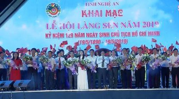 Khai mac Le hoi Lang Sen 2019 ki niem 129 nam ngay sinh Bac Ho