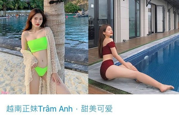Gai xinh Sai Gon len bao nuoc ngoai vi dien bikini qua nong bong
