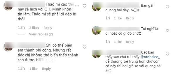 Ban gai tin don Quang Hai bi antifan tan cong