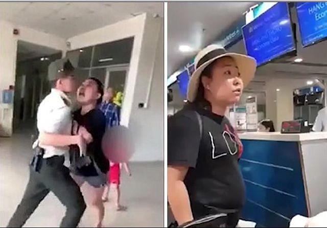 Nu cong an nao loan san bay: Cac hang bay dong loat tu choi ban ve