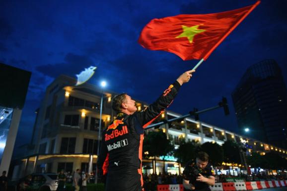 To chuc giai dua F1, Viet Nam