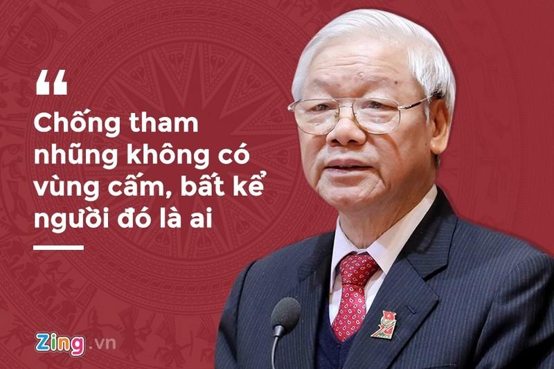 Phat ngon nam 2019 cua Tong bi thu ve cuoc chien chong tham nhung-Hinh-2