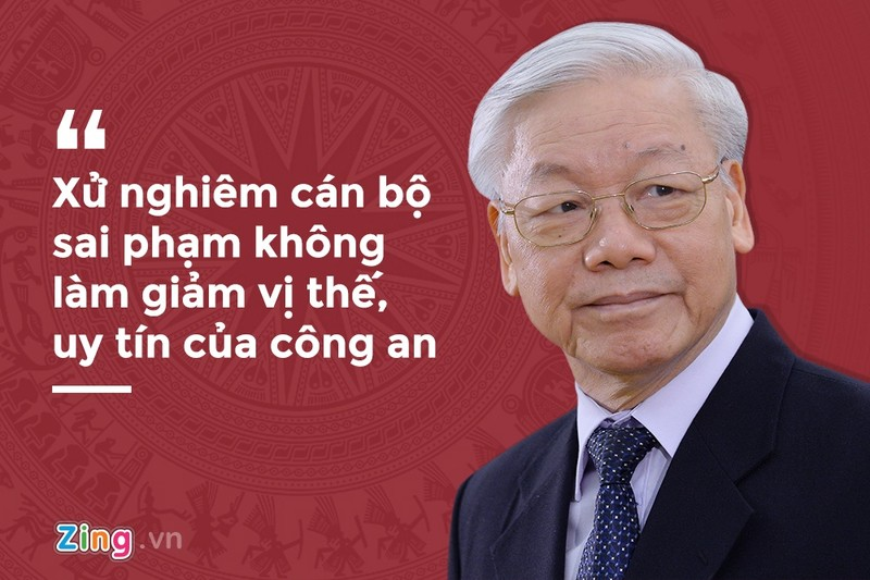 Phat ngon nam 2019 cua Tong bi thu ve cuoc chien chong tham nhung