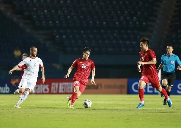 Hoa U23 Jordan, U23 Viet Nam mat quyen tu quyet vao tu ket