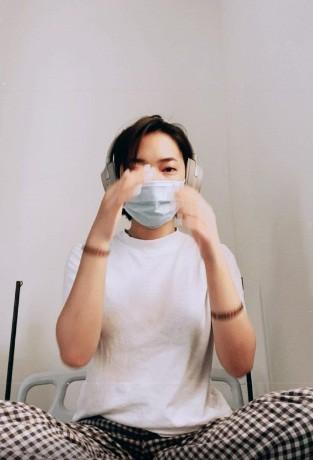Dan tinh thich thu nghe hot girl Chau Bui ke chuyen trong khu cach ly COVID-19-Hinh-10