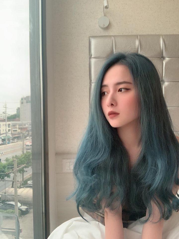 Hot girl Dai hoc Hoa Sen he moi cuoi ngam ma me-Hinh-12