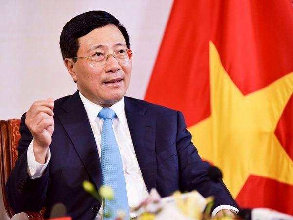 Pho Thu tuong, Bo truong Bo Ngoai giao Pham Binh Minh noi ve doi ngoai Viet Nam 2020