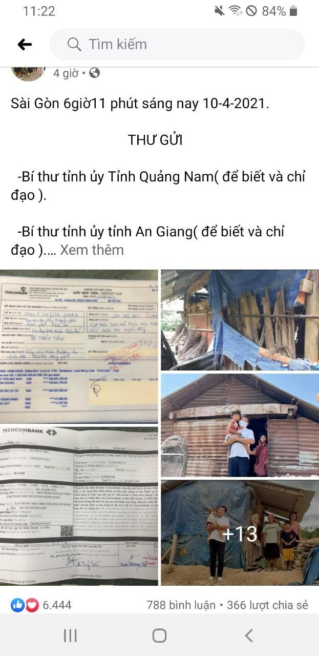 Ong Doan Ngoc Hai doi lai 106 trieu, huyen Nam Tra My noi gi?