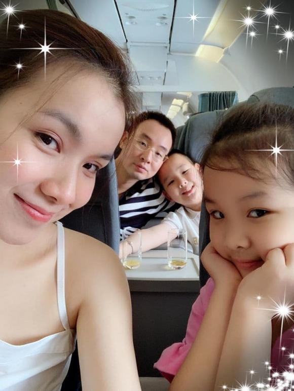 Hoa hau Thuy Lam khoe nhan sac doi thuong sau 11 nam roi xa showbiz