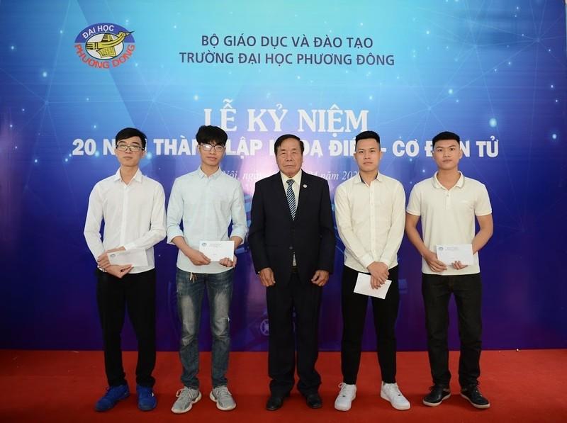 Khoa Dien - Co dien tu DH Phuong Dong ky niem 20 nam thanh lap-Hinh-3