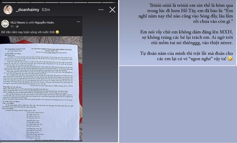 Ban gai Doan Van Hau khoe ky niem di thi tot nghiep THPT-Hinh-3