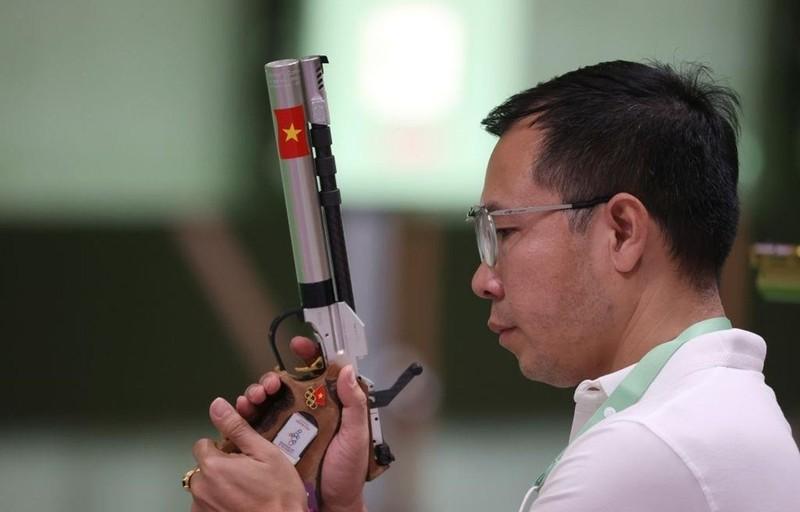 Olympic Tokyo: VDV Viet Nam chiu canh