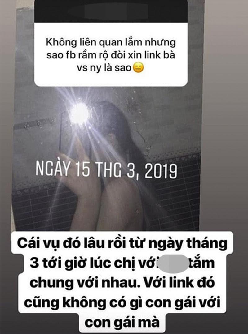 Gai xinh hen ho bo cu Linh Ngoc Dam co mot