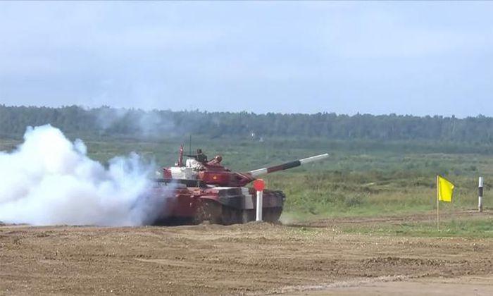 Army Games 2021: Viet Nam tiep tuc dua xe tang, chac suat chung ket cong binh-Hinh-4