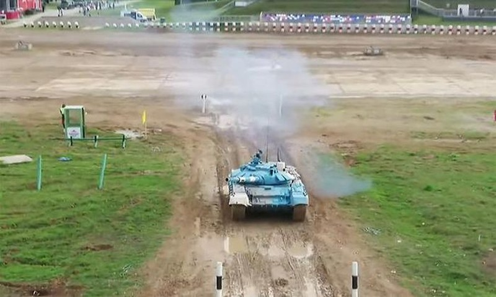 Army Games 2021: Viet Nam tiep tuc dua xe tang, chac suat chung ket cong binh-Hinh-5