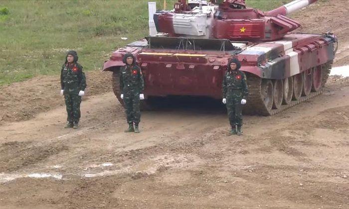 Army Games 2021: Viet Nam tiep tuc dua xe tang, chac suat chung ket cong binh