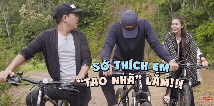 Thuy Tien tung thu nhan so thich choi co bac khien Truong Giang sung sot