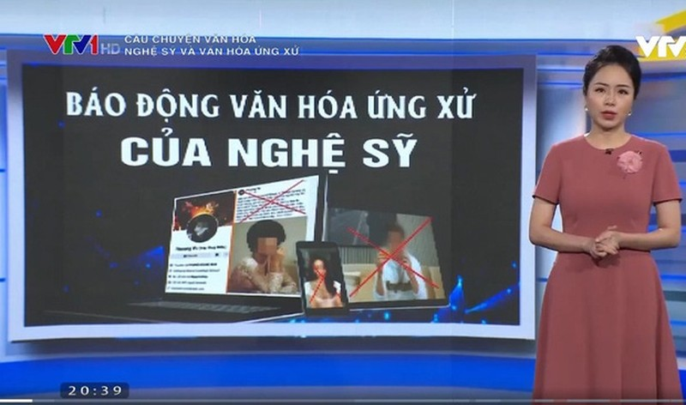 Doi tay chay VTV, antifan ba Phuong Hang the hien