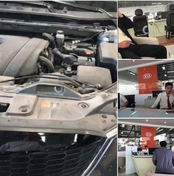 Bao duong xe Mazda CX5, Kia Hai Phong tu y trao do?