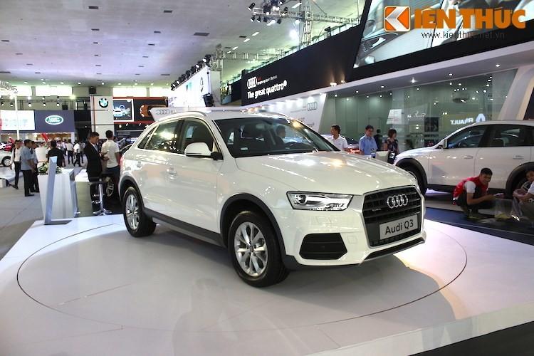 Audi trieu hoi 33 chiec xe sang Q3 tai thi truong Viet