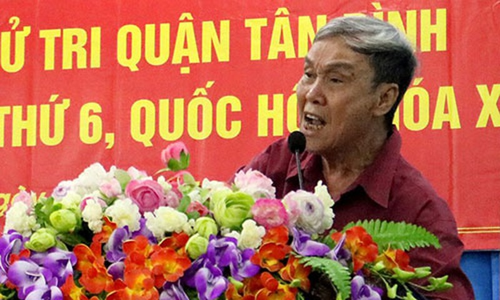 Cu tri Tan Binh dong tinh viec mo rong san bay Tan Son Nhat