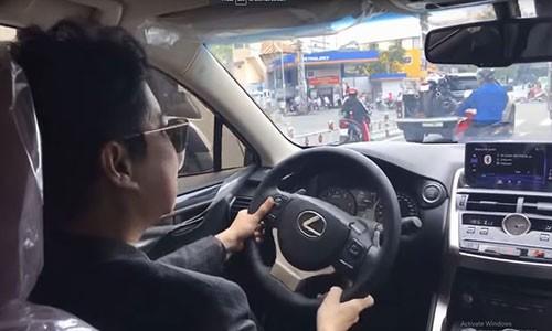 Ca si Ngoc Son tau xe sang Lexus NX300 gia 2,5 ty-Hinh-2