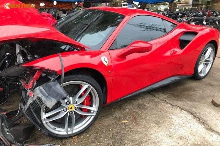 Chi phi sua sieu xe Ferrari cua Tuan Hung khoang 3 ty dong