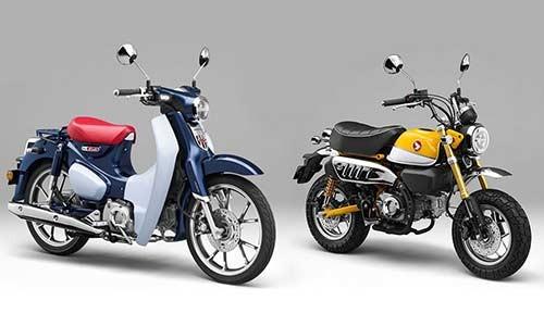 Honda Super Cub va Monkey 125 ra mat tai Viet Nam