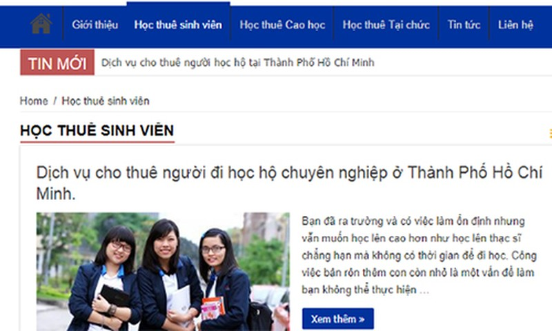 """No ro"" dich vu hoc thue: Chat luong nhung tam bang se ve dau?"