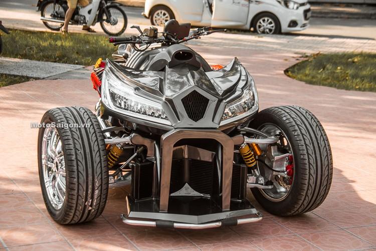 Sieu moto Honda CBR1000RR do 4 banh doc nhat Viet Nam