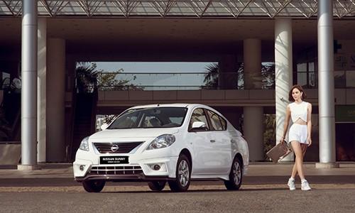 Xe Nissan Sunny tai Viet Nam