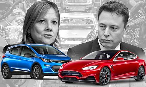Elon Musk muon Tesla mua lai nha may sap dong cua GM