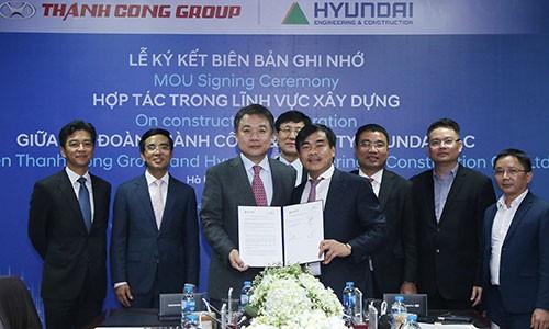 Tap doan Thanh Cong hop tac cung Hyundai E&C VIet Nam