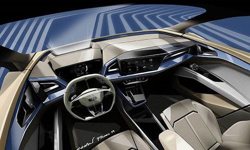 Xe dien Audi Q4 e-tron Concept sap ra mat toan cau-Hinh-2