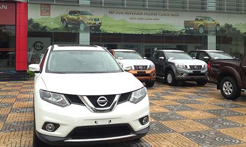 Tat ca xe Nissan tai Viet Nam bat ngo