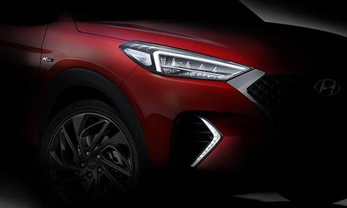 SUV the thao Hyundai Tucson N-Line 2020 sap ra mat?