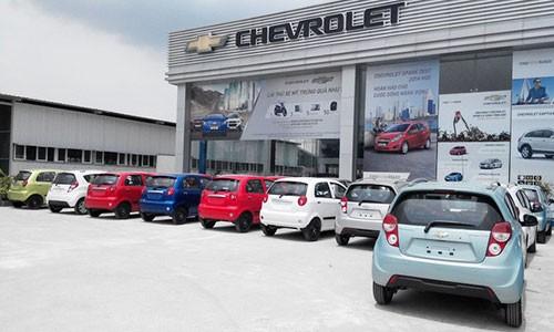 Co hoi nao cho Chevrolet neu ban xe Vinfast?