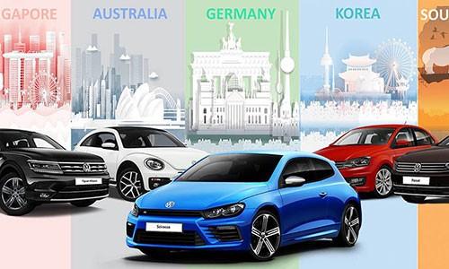 Volkswagen Viet Nam tang 100 trieu dong cho khach mua xe