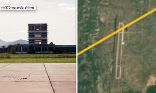 MH370 da ha canh tai mot san bay hoang bi mat